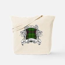Duncan Tartan Shield Tote Bag