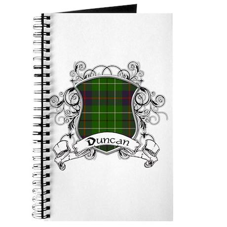Duncan Tartan Shield Journal