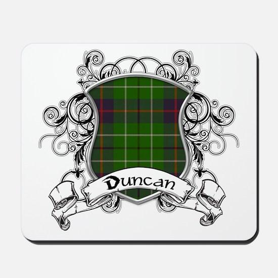 Duncan Tartan Shield Mousepad