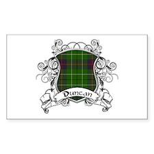 Duncan Tartan Shield Decal