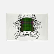 Duncan Tartan Shield Rectangle Magnet