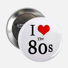 "'I Love The 80s' 2.25"" Button (10 pack)"