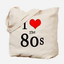 'I Love The 80s' Tote Bag