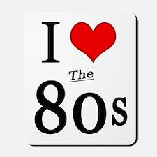 'I Love The 80s' Mousepad