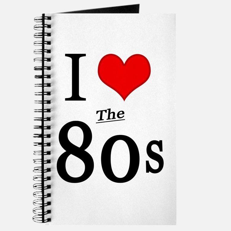 'I Love The 80s' Journal