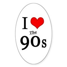 'I Love The 90s' Decal
