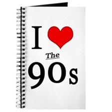 'I Love The 90s' Journal