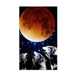 Three Wolf Moon Rectangle Sticker 50 pk)