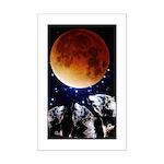 Three Wolf Moon Mini Poster Print