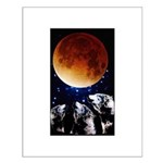 Three Wolf Moon Small Poster