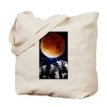Three Wolf Moon Tote Bag