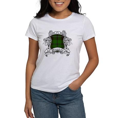 Douglas Tartan Shield Women's T-Shirt