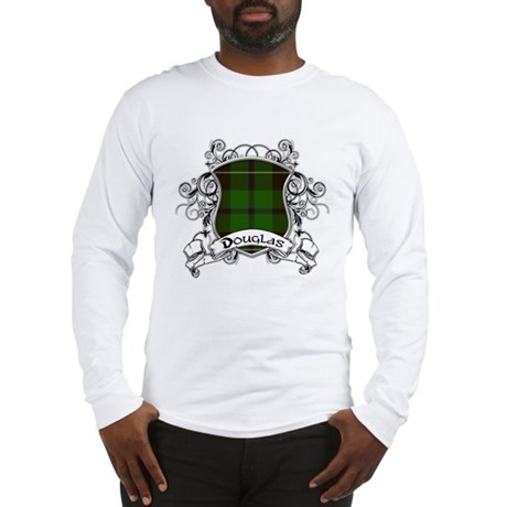 Douglas Tartan Shield Long Sleeve T-Shirt