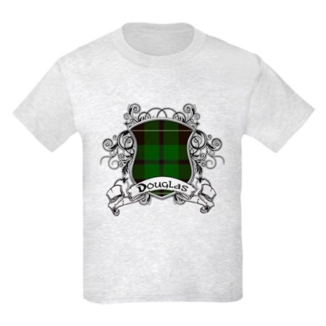 Douglas Tartan Shield Kids Light T-Shirt