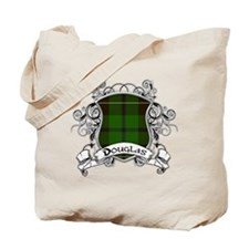 Douglas Tartan Shield Tote Bag