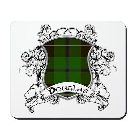 Douglas Tartan Shield Mousepad