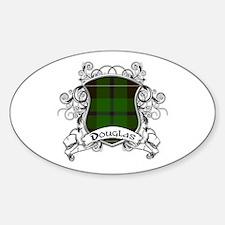 Douglas Tartan Shield Decal