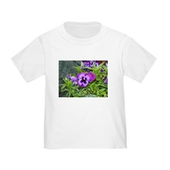 Purple Pansy T