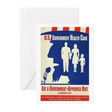 Government Diet Greeting Cards (Pk of 20)