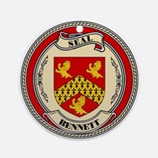 Seal - Bennett Ornament (Round)
