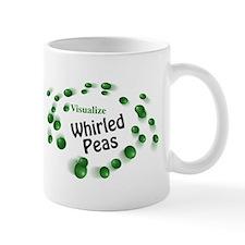 Visualize Whirled Peas Small Mugs
