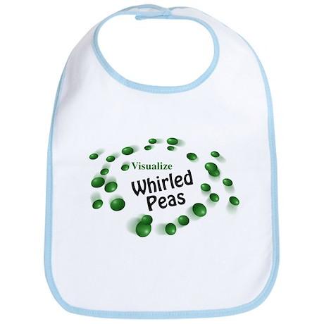 Visualize Whirled Peas Bib