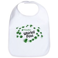 Visualize Whirled Peas Bib