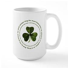 Irish drinking song Mug