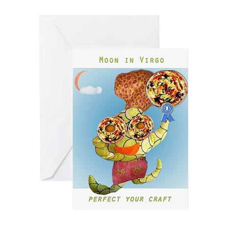 Vinny d'Virgo Greeting Cards (Pk of 10)