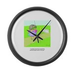 Swimsuit Large Wall Clock