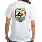 Dogs: Train 'em, Don't Chain White T-Shirt