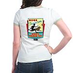 Dogs: Train 'em, Don't Chain Jr. Ringer T-Shirt
