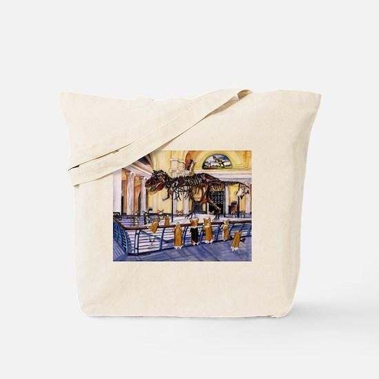 A Christmas Corgi Bodacious B Tote Bag