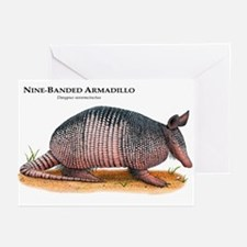 Nine-Banded Armadillo Greeting Cards (Pk of 10)