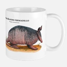 Nine-Banded Armadillo Mug