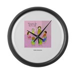 Anonymous Large Wall Clock