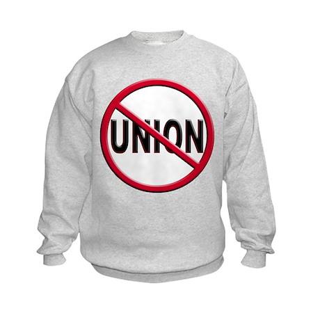 Anti-Union Kids Sweatshirt