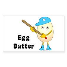 Egg Batter Rectangle Decal