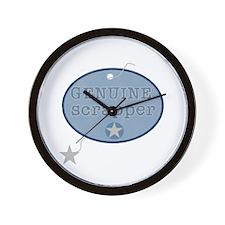 Genuine Scrapper Wall Clock