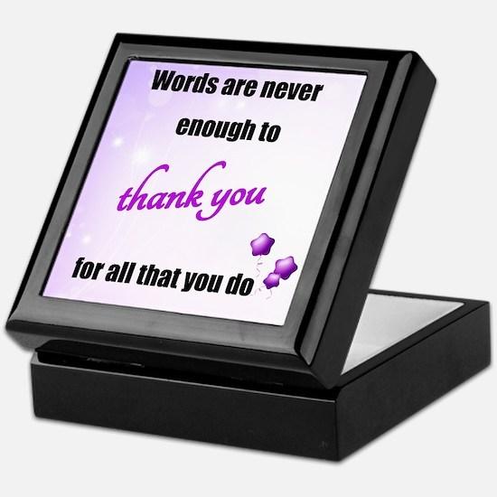 Lavender Blessings Keepsake Box