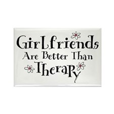 Girlfriend Therapy Rectangle Magnet