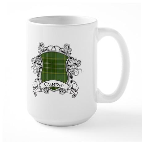 Currie Tartan Shield Large Mug