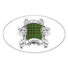Currie Tartan Shield Decal