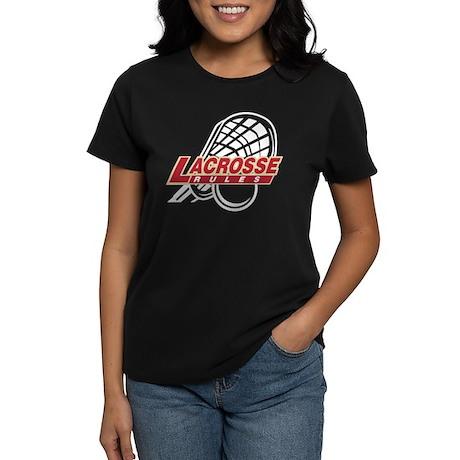 Lacrosse Rules Women's Dark T-Shirt