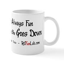 Goes Down Small Small Mug
