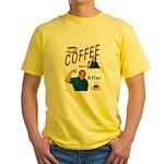 Coffee! Yellow T-Shirt