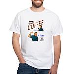 Coffee! White T-Shirt