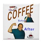 Coffee! Tile Coaster