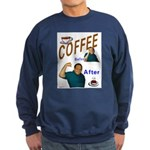 Coffee! Sweatshirt (dark)