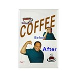 Coffee! Rectangle Magnet (100 pack)